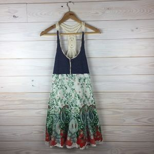 Free People Boho Chic Floral Dress